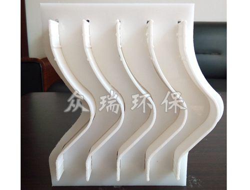 正弦波型叶片-插板装